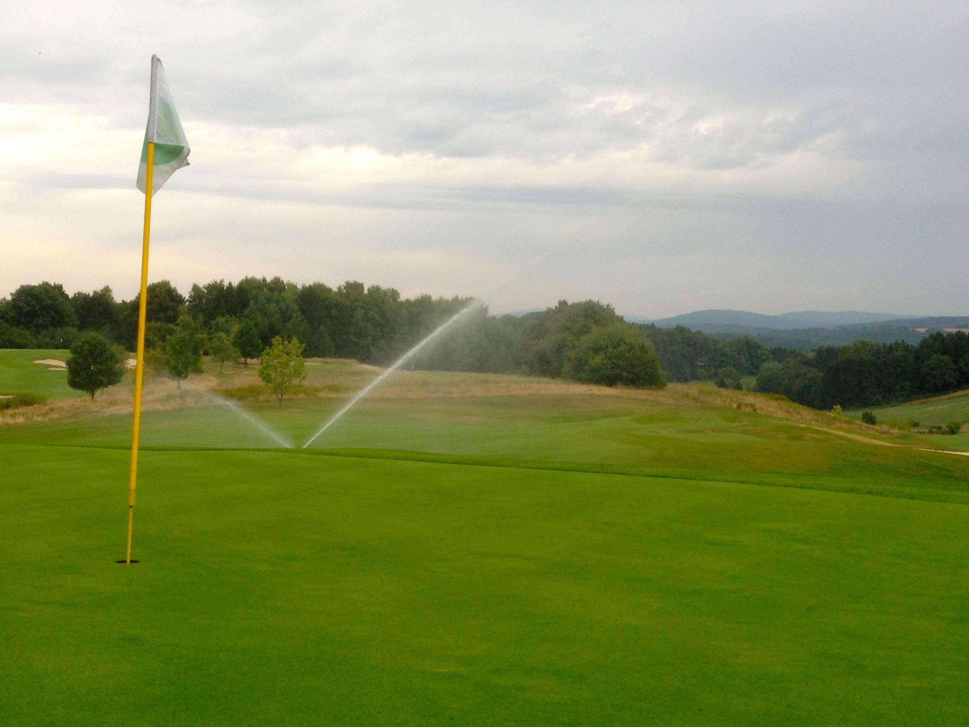 Beregnungsanlage Golfplatz am Loch