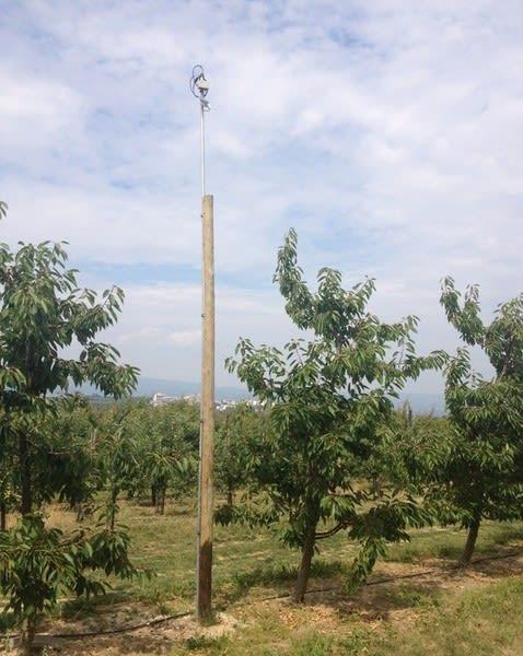 Funkmast Landwirtschaft Bewässerungsanlage