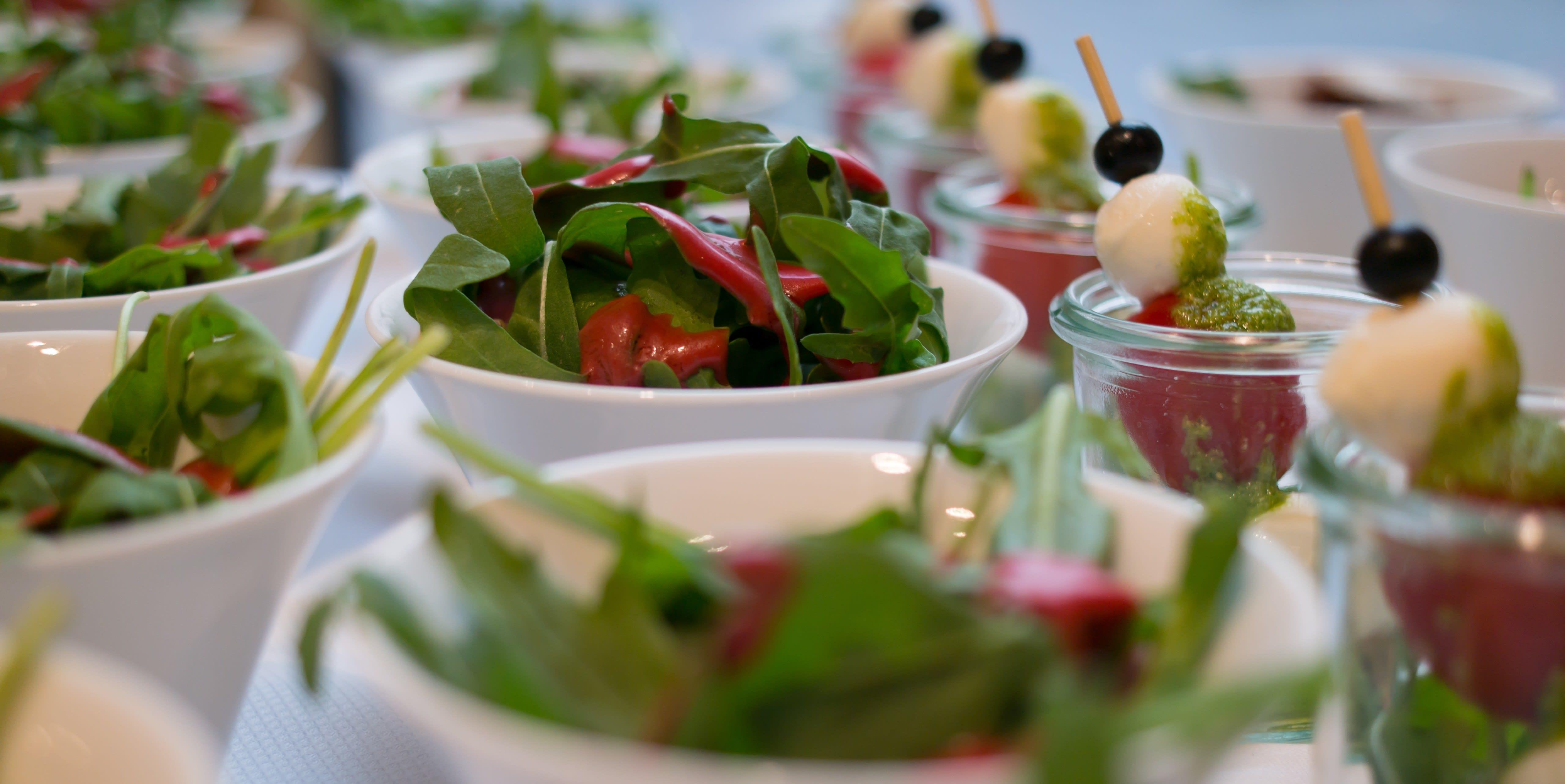 Salat Tomate Mozarella Vorspeise