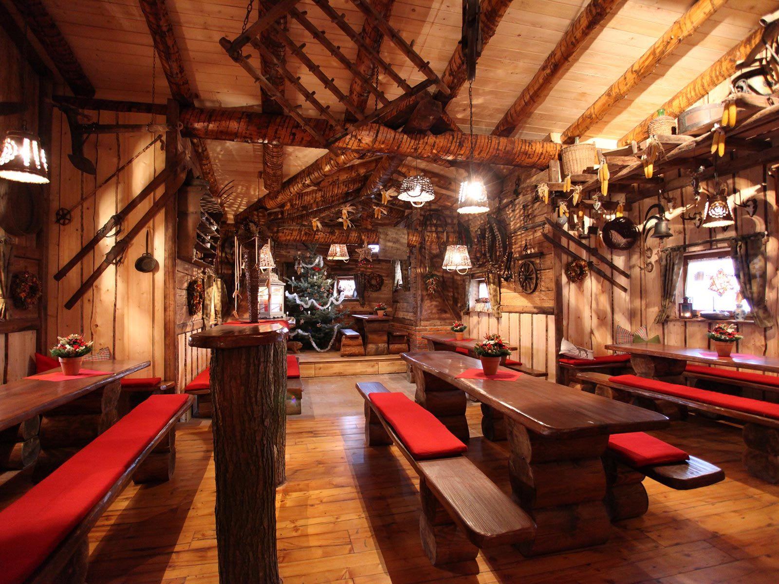 Location Hütte aus Holz