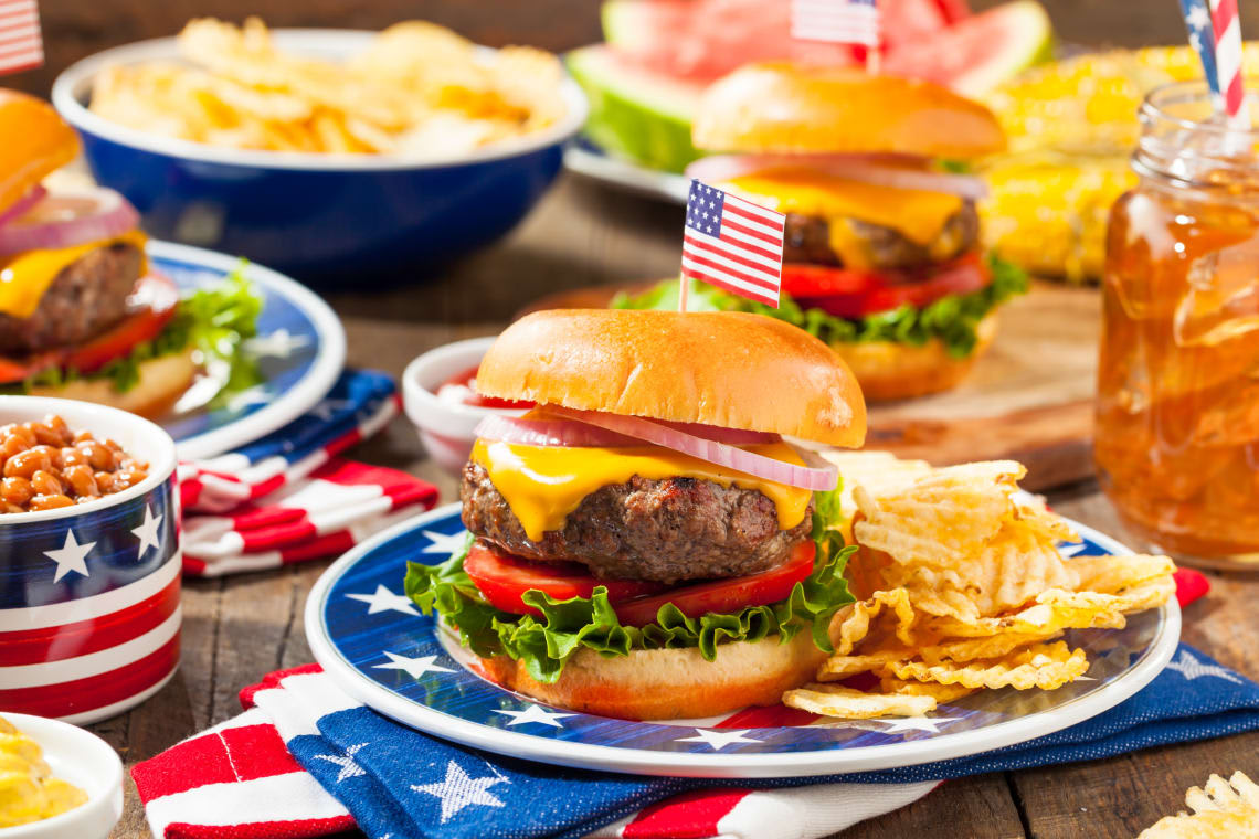 American BBQ Burger Party