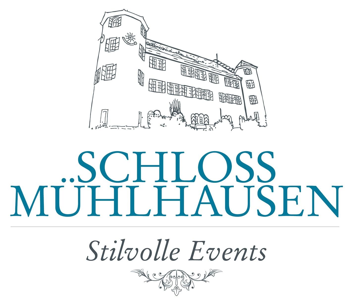 Schloss Mühlhausen Logo Stilvolle Events