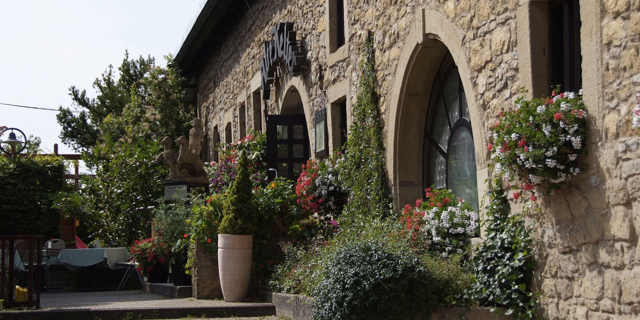 Alte Kelter Mauerund Eingang