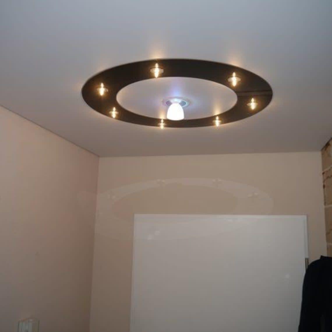 Lampe mit Lampenkreis