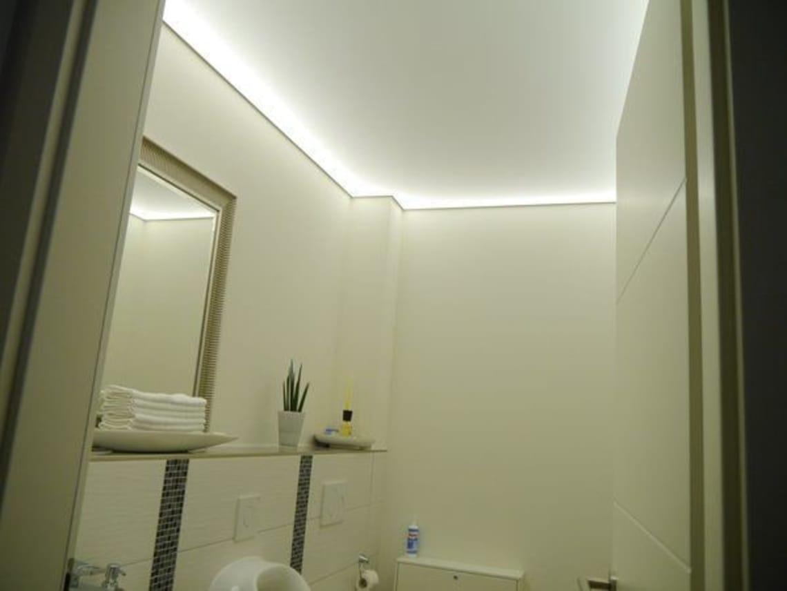 Lichtdecke im Gäste WC