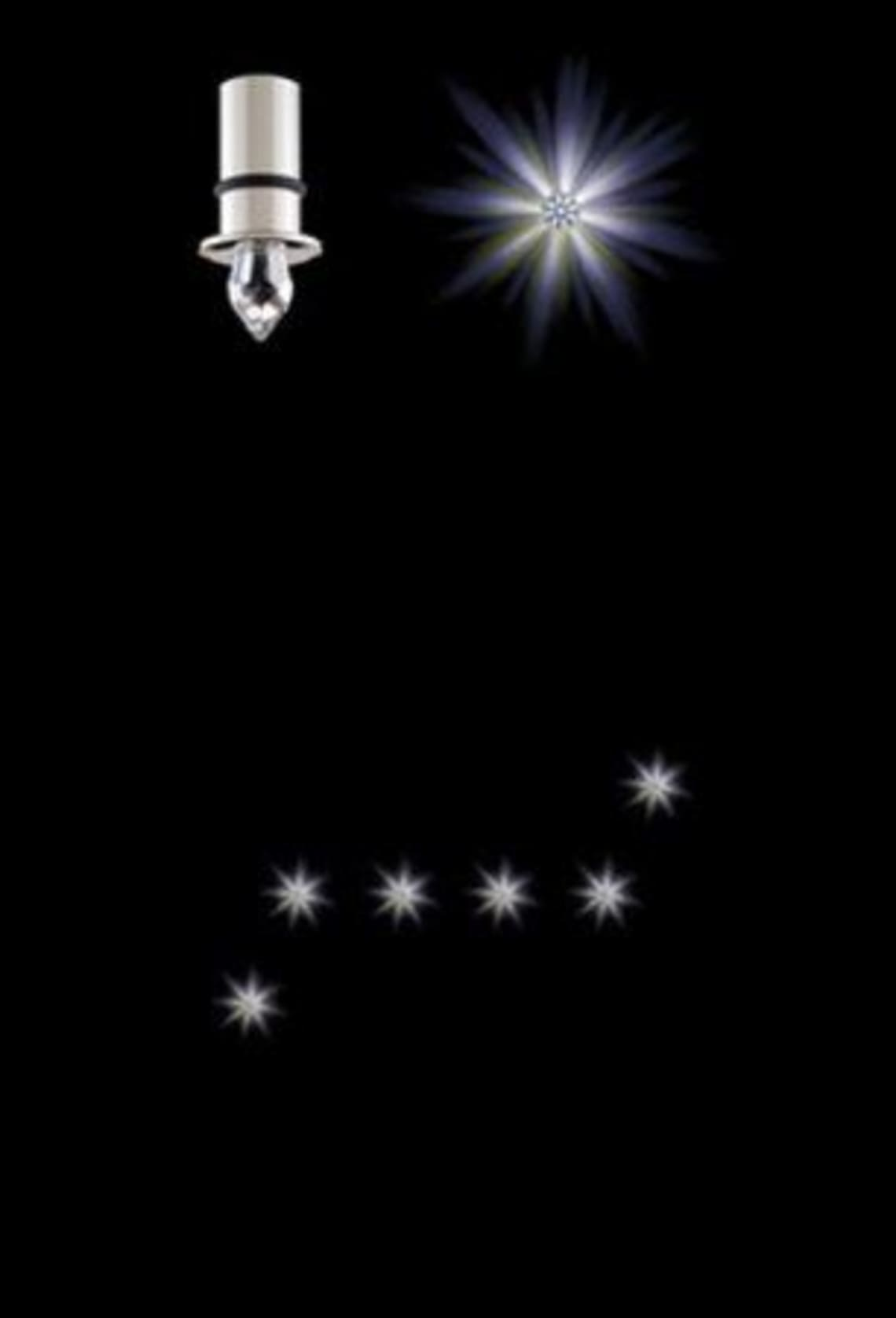 Crystal Star LED Anima 6