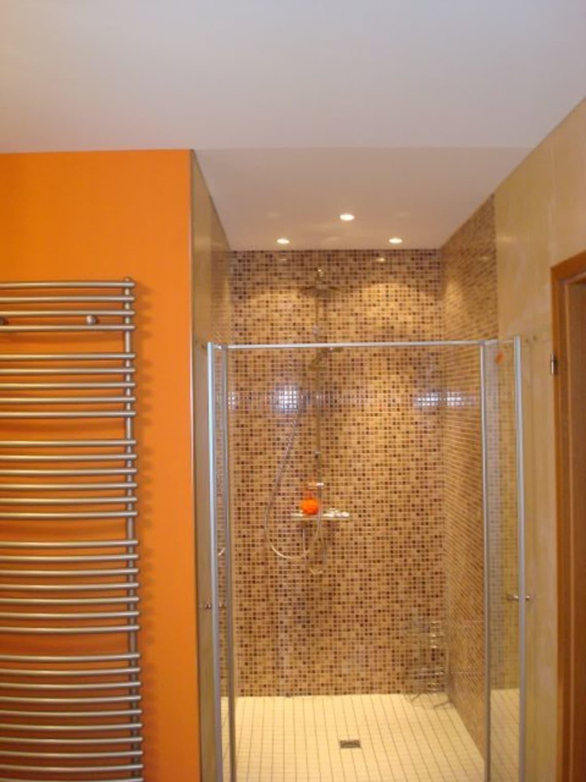Tuchspanndecke im Badezimmer