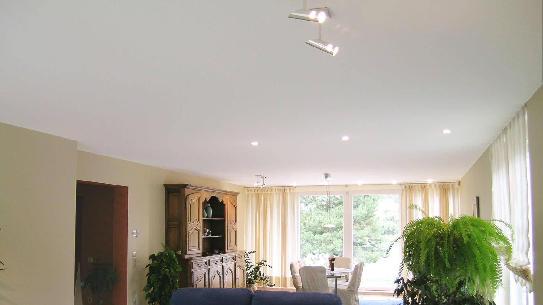 Gestalten Sie Ihre Räume neu - mit einer hinerleuchteten Spanndecke