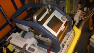 ITS-Terra mit Starmed-Quick-Change Adaption und Gerätehalterungssystem