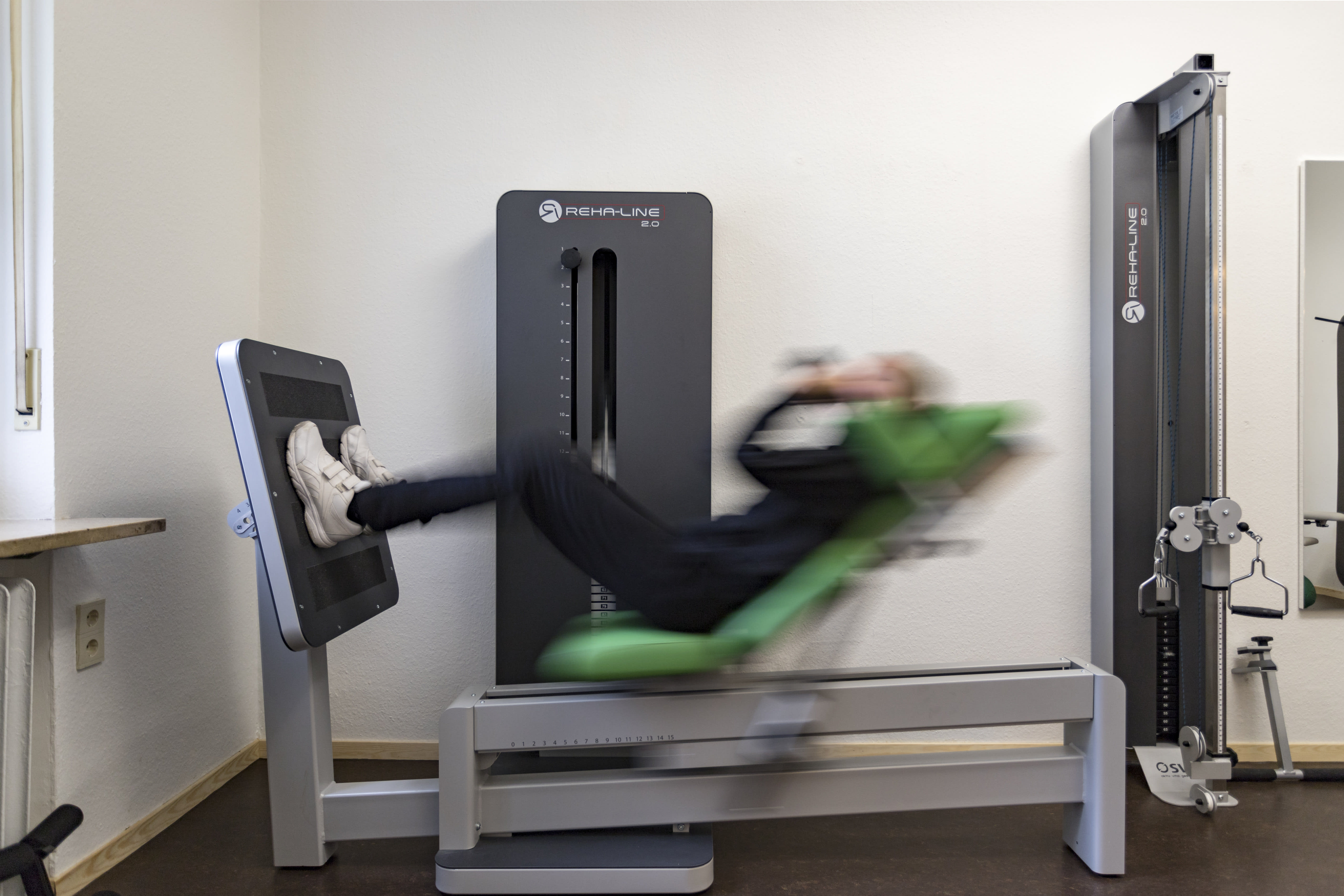 Trainingsgerät Physiotherapie