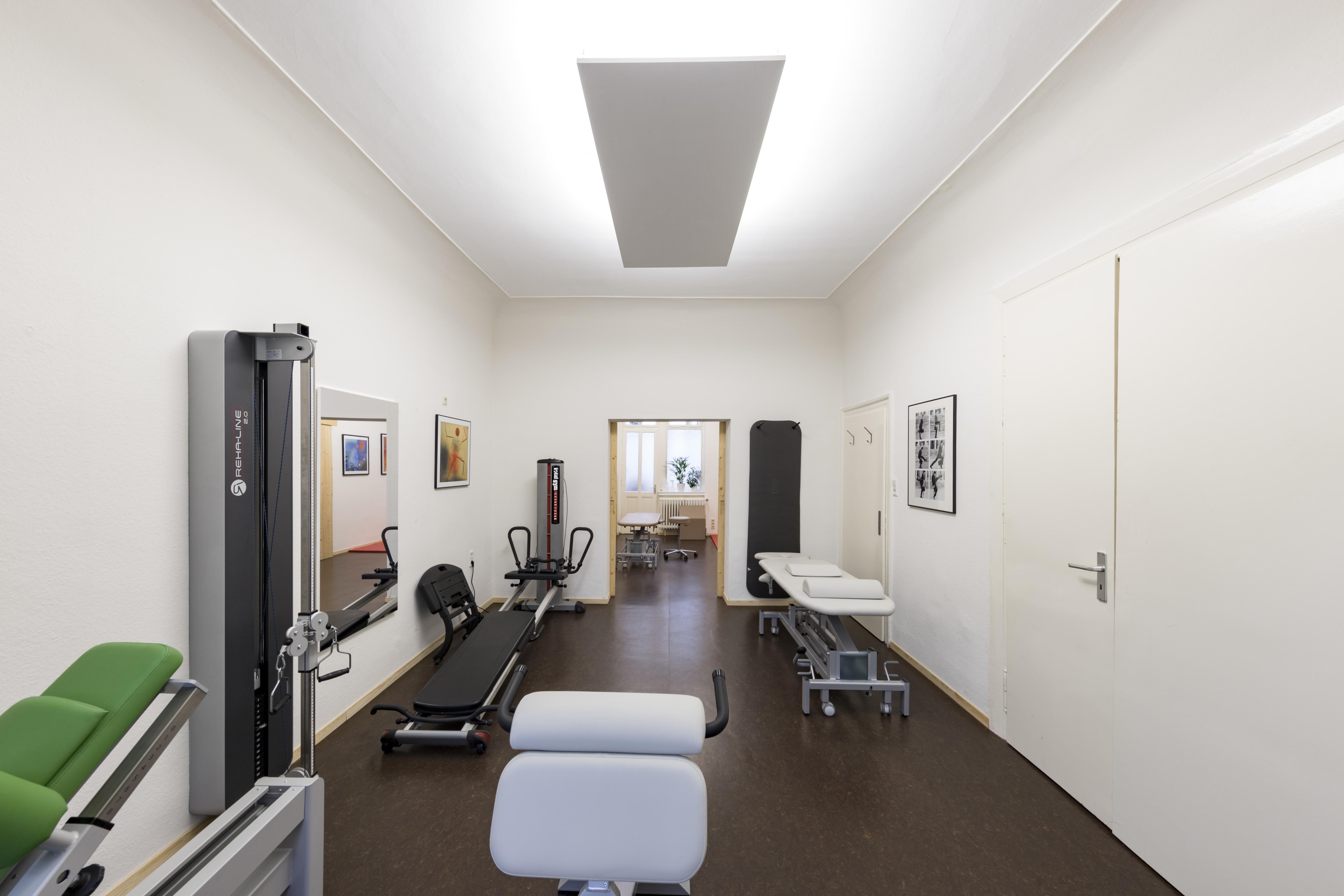 Trainingsbereich Physiotherapie