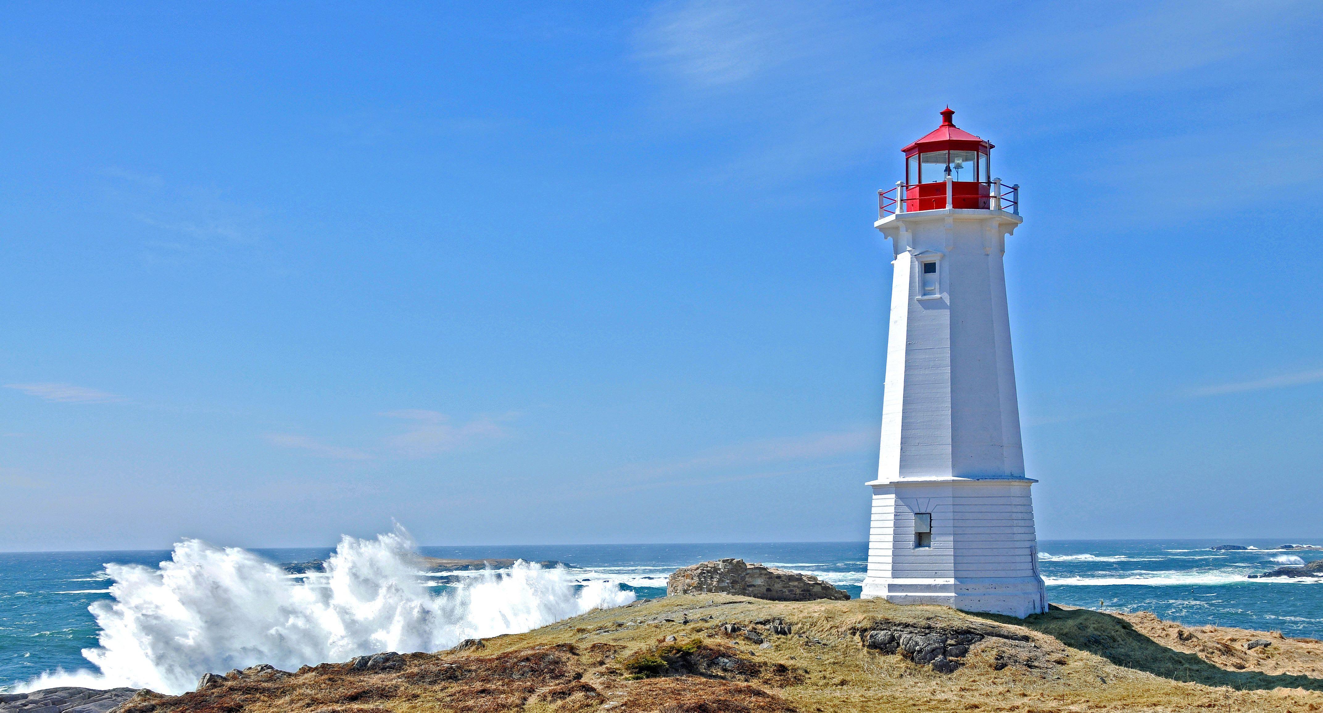 Louisbourg Lighthouse Leuchtturm