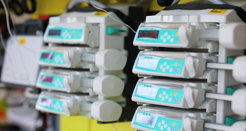 Spritzenpumkpen Geräteintegration mehrere Geräte
