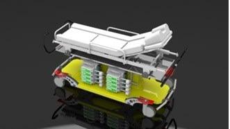 Heavyflex Transporter mit weißem Bezug