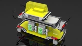 Heavyflex Transporter weiß und gelb