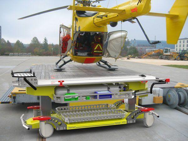 Punktlandung Helikopter Landung