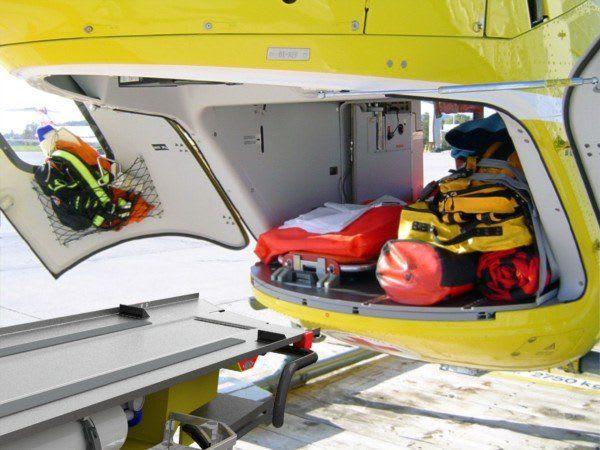 Helikopter HTS Heilster gefüllter Hellikopter