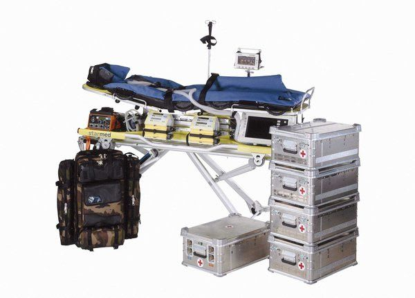 ITS-TERRA 100 GAF Transportmittel mit Material