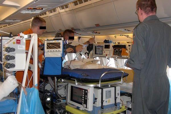 ITS TERRA 100 GAF im Einsatz Flugzeug