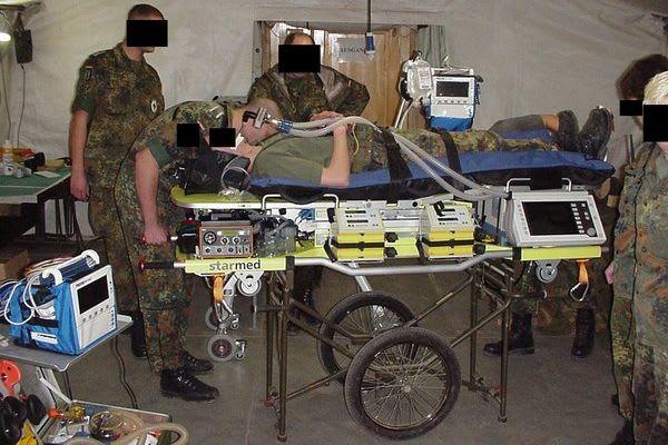ITS TERRA 100 GAF im Einsatz Militär