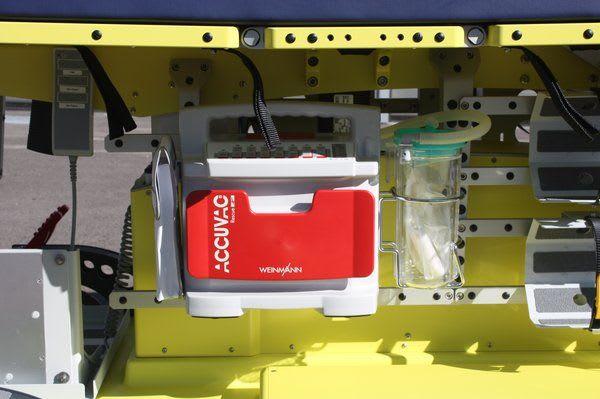 Geräteschienen-Halterungslösung GH Absauggeräte