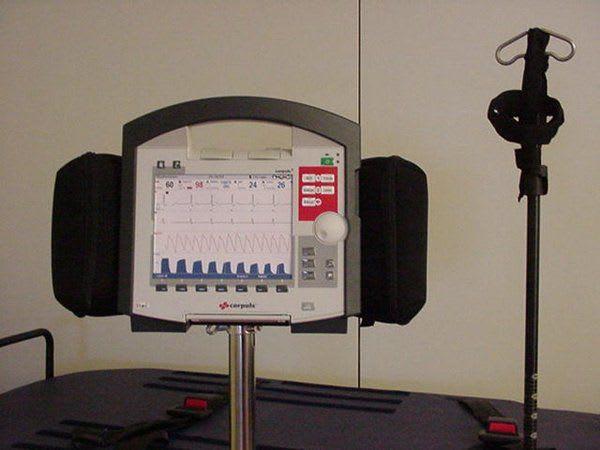Gerätehalterung für Corpuls C3 Monitor