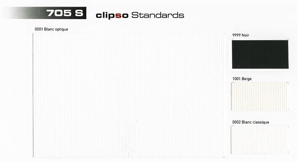 Clipso Farbkarte 705 Standardfarben