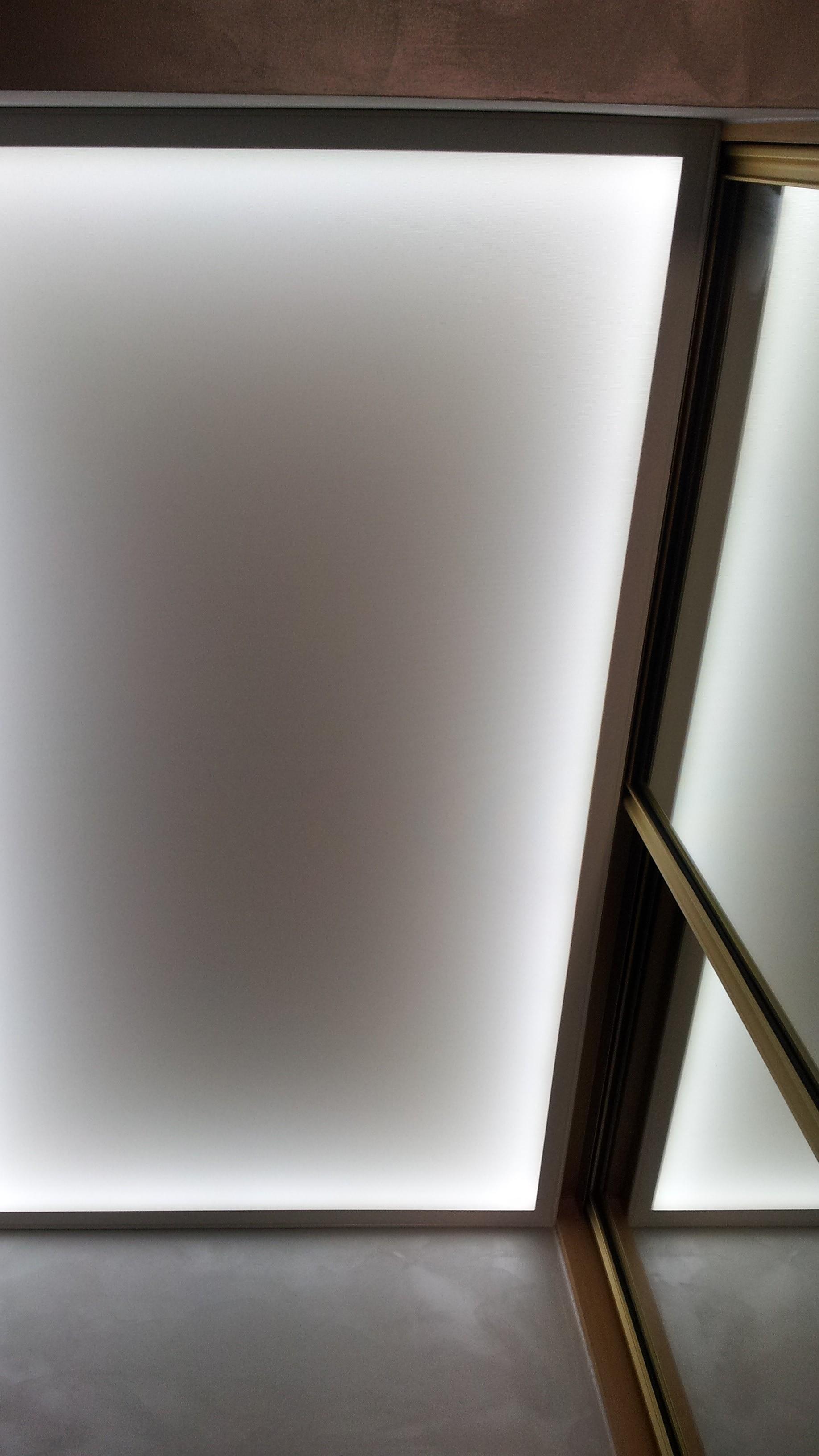 Referenz Privater Flur Eingangsbereich Deckensegel Lichtdecke