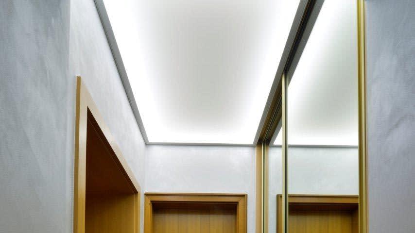 Referenz Privater Flur Eingangsbereich Garderobe Lichtdecke