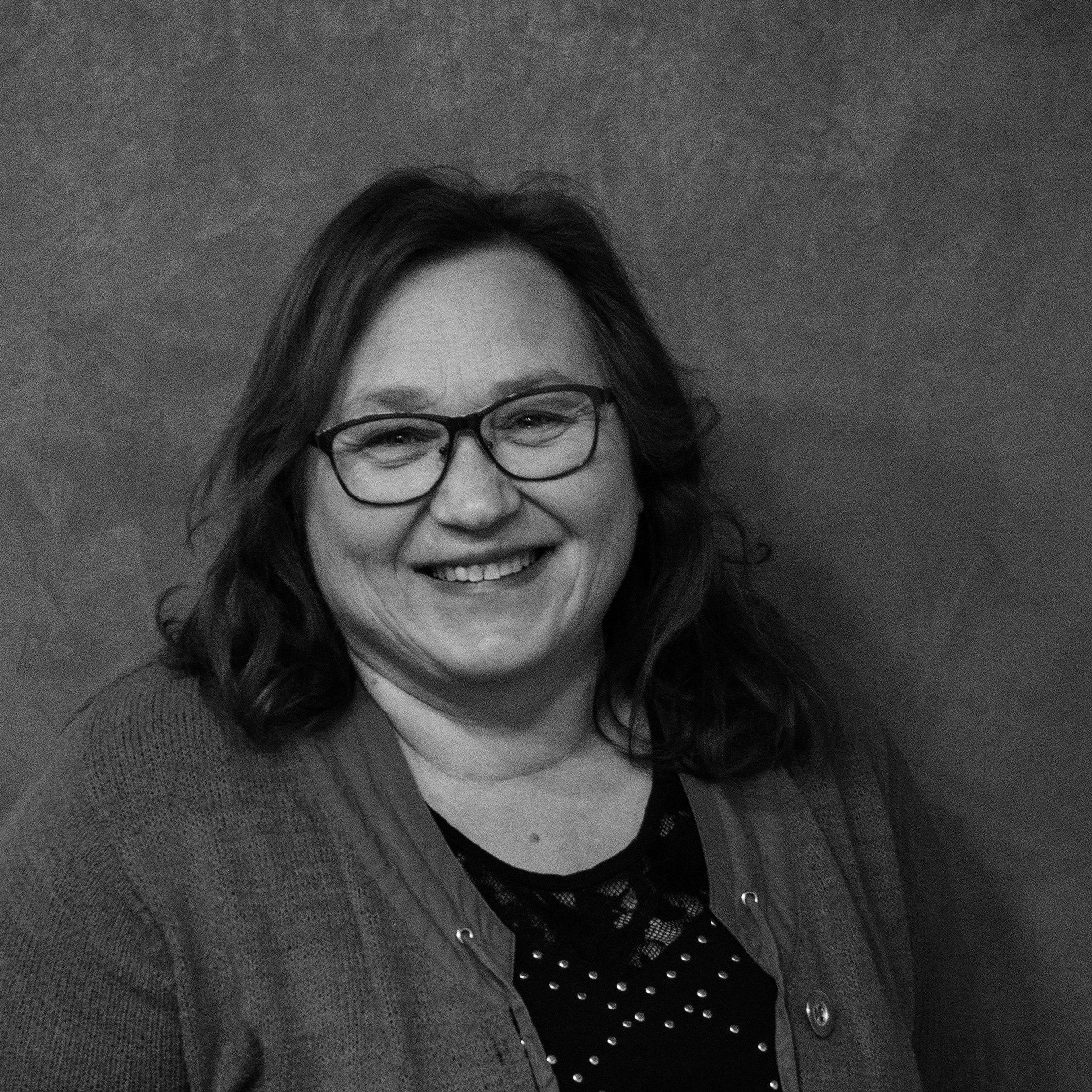 Berta Baumann Profilbild schwarz weiß Geschäftsführung