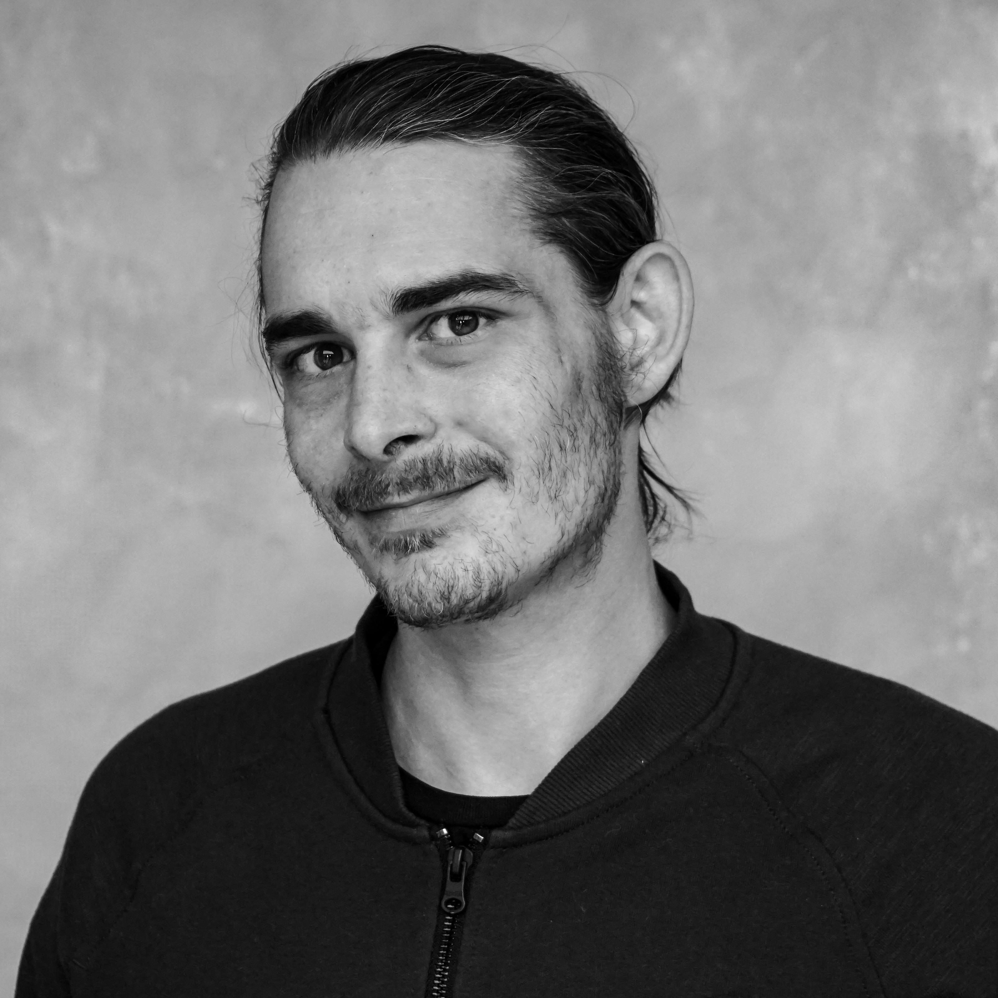 Florian Abel Profilbild schwarz weiß