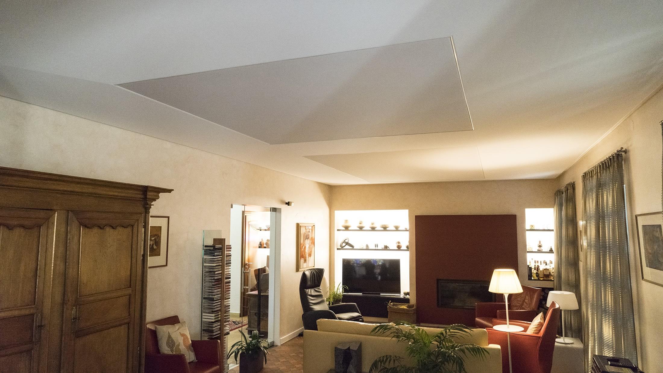 Wohnzimmer nachher mit passiver Beleuchtung