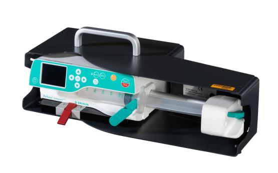 Neue Starflex-Pro Halterung für Spritzen-pume B.Braun Perfusor Compact Plus