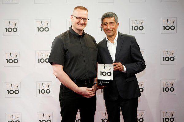 Mentor Ranga Yogeshwar ehrt Starmed mit dem Top 100-Siegel für innovativsten Unternehmen im deutschen Mittelstand
