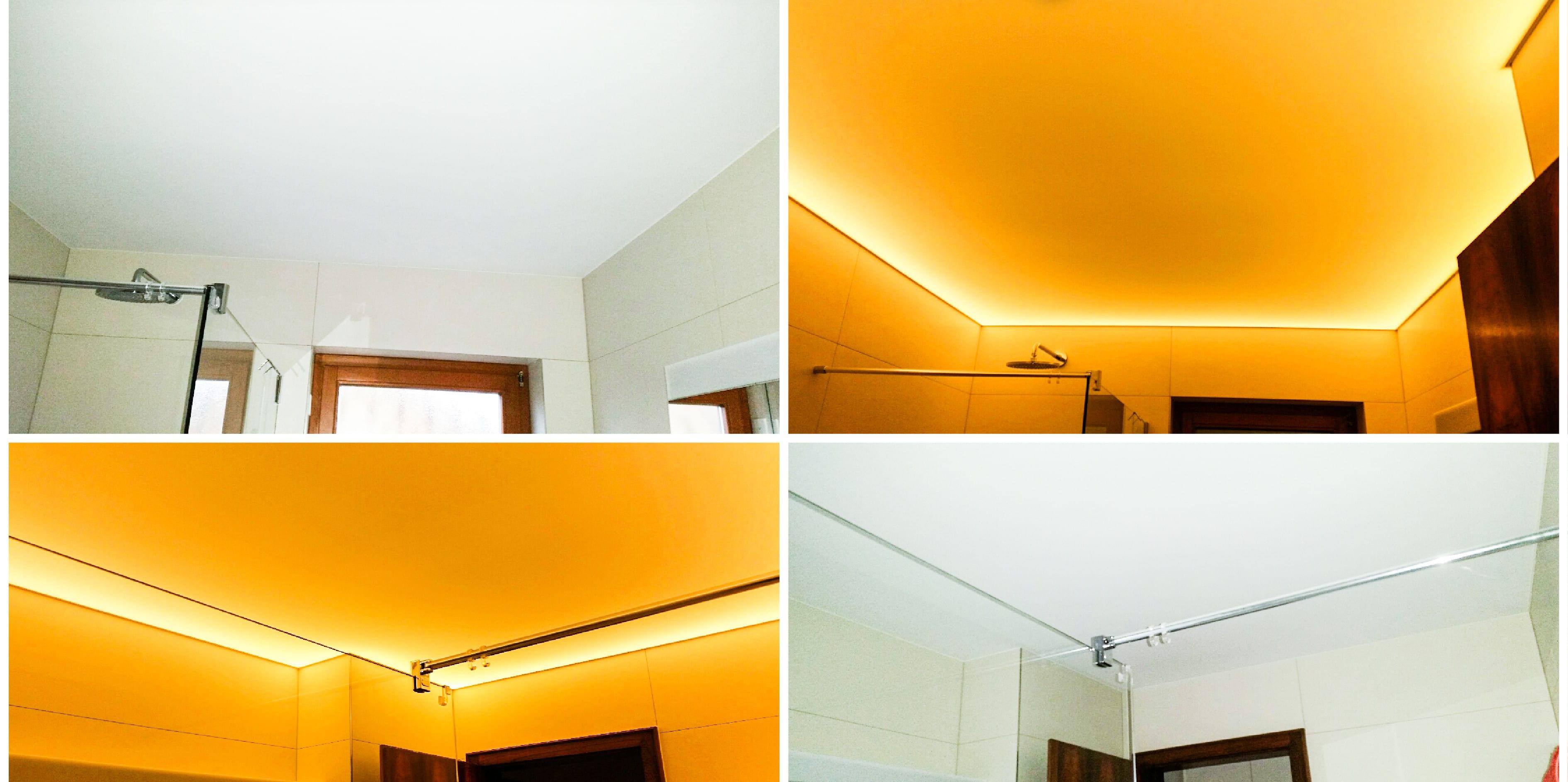 Seibel Spanndecken CLIPSO Gewebespanndecken Orange weiß Titelbild