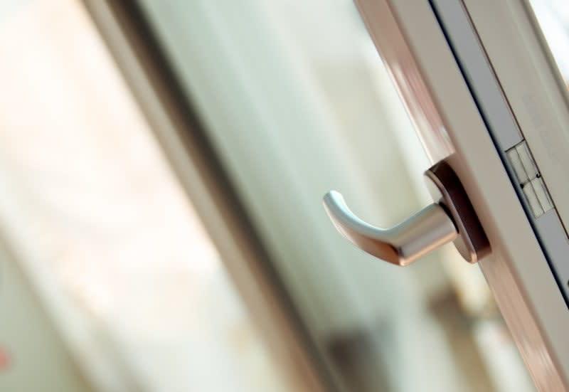 Türen Türgriff an Fenstertür