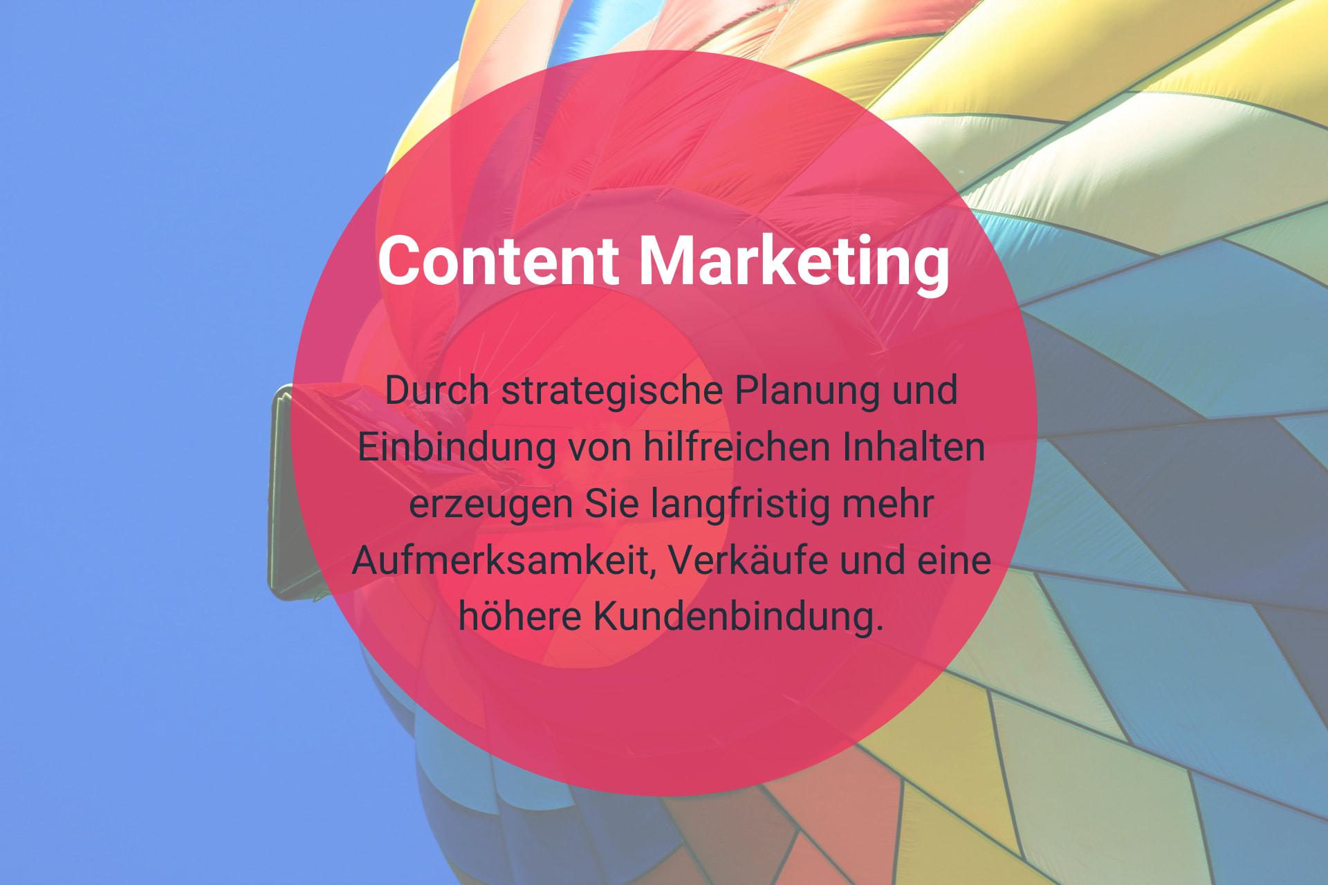 Content Marketing mit chocoBRAIN-Marketing