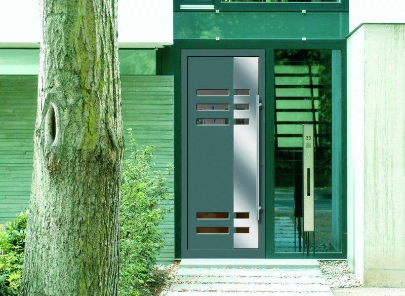 Aluminium/ Kunststoff-Haustüre