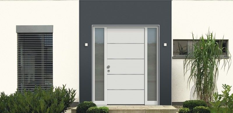 HT A 15-203/ Aluminium-Holz-Haustüre AB 3200 €