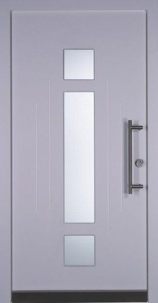 37 weiß grau mit Glasbalken
