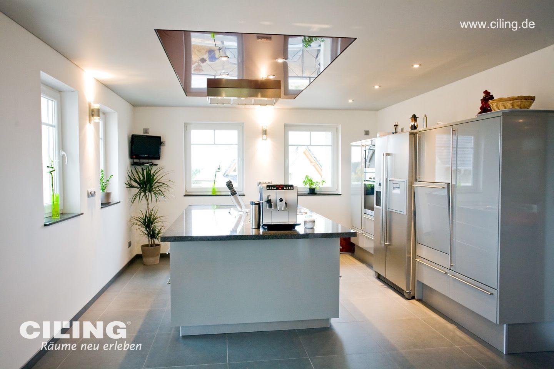 Spanndecke Küche CILING modern