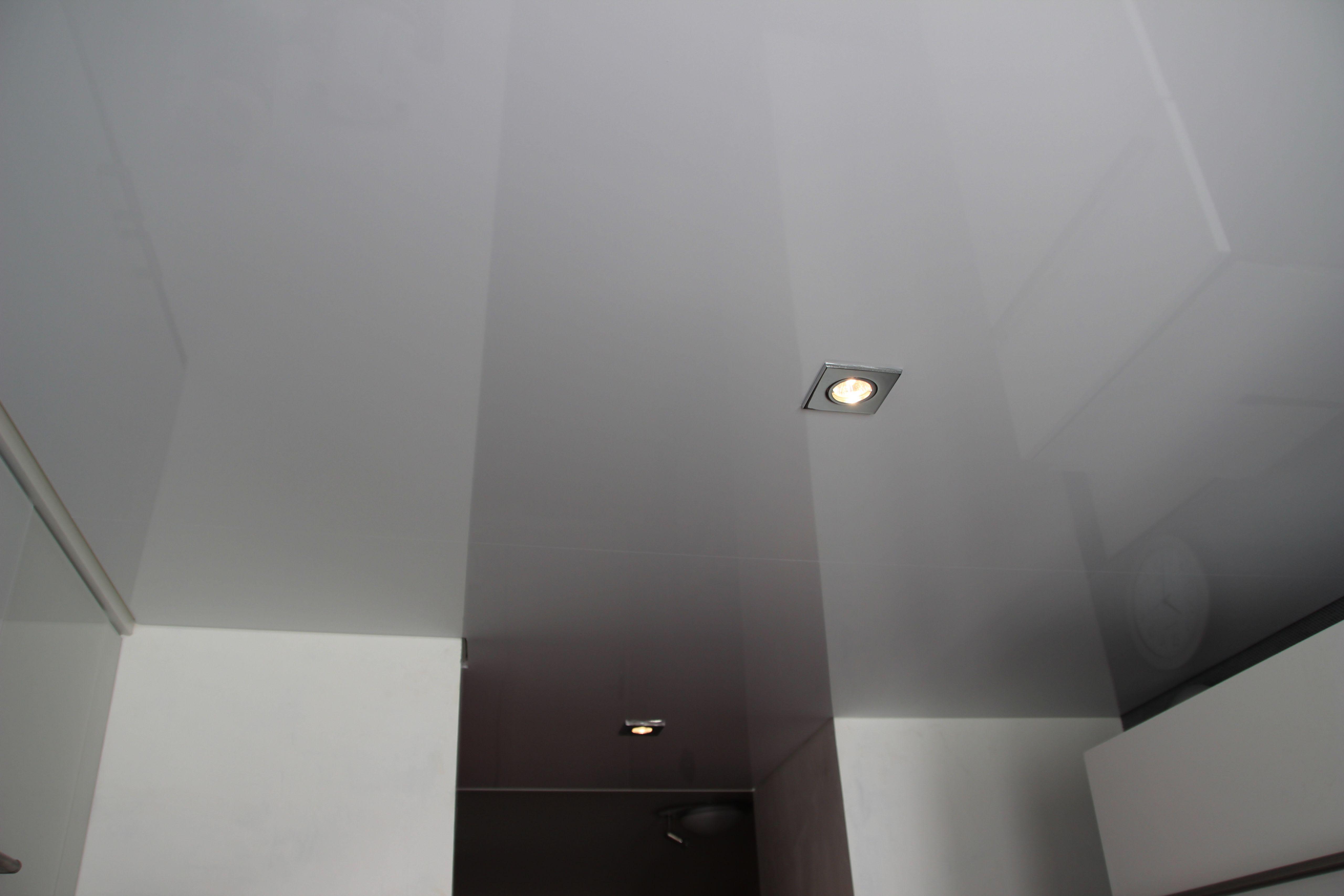 Küche hochglanz weiß Leuchten