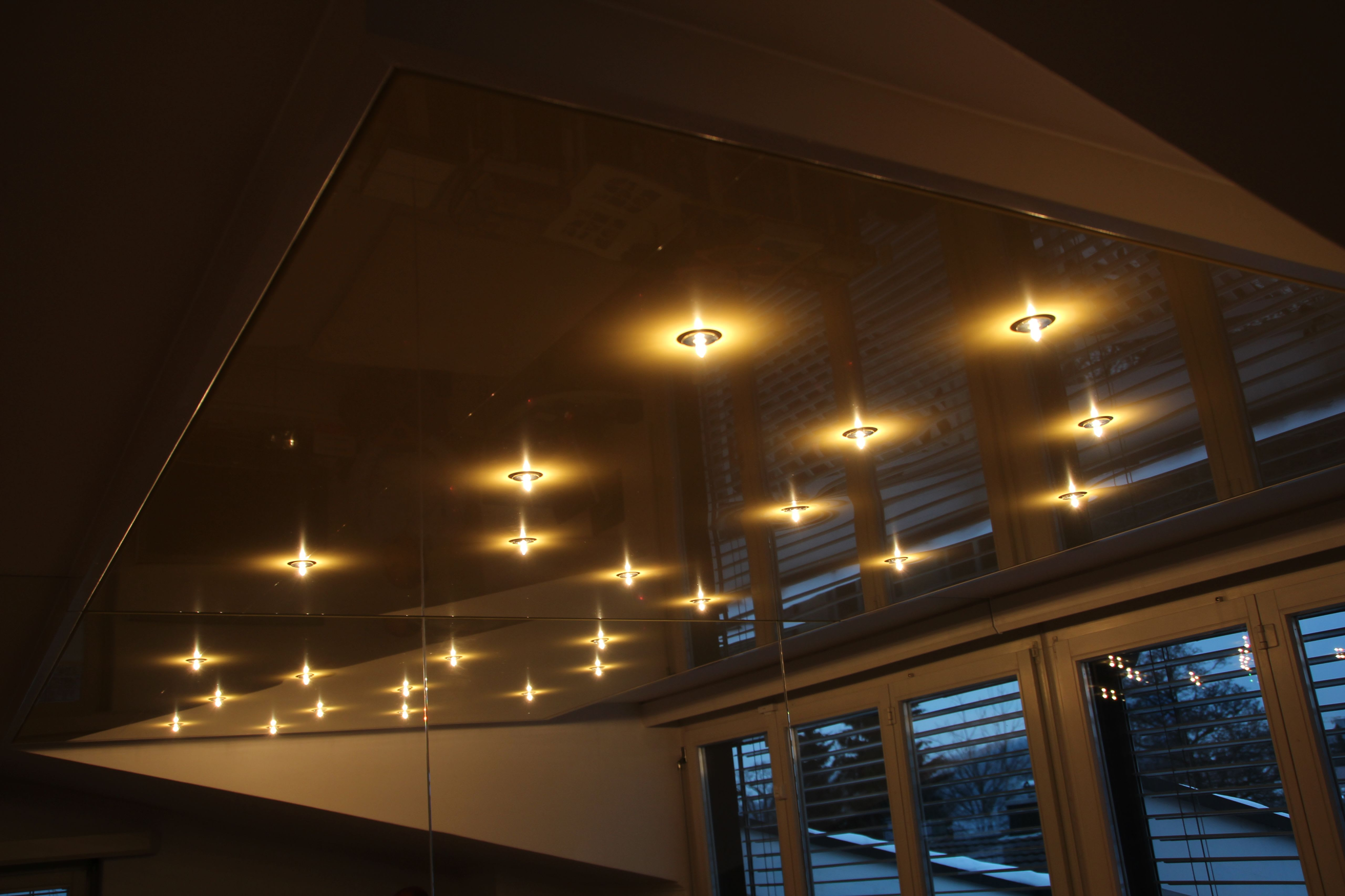 Galerie Schlafzimmer CILING Spanndecke Sternenhimmel Beleuchtung