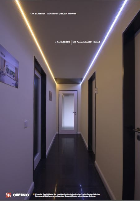 Galerie Beleuchtung Einbaustrahler CILING 1