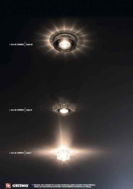 Galerie Beleuchtung Einbaustrahler CILING 9