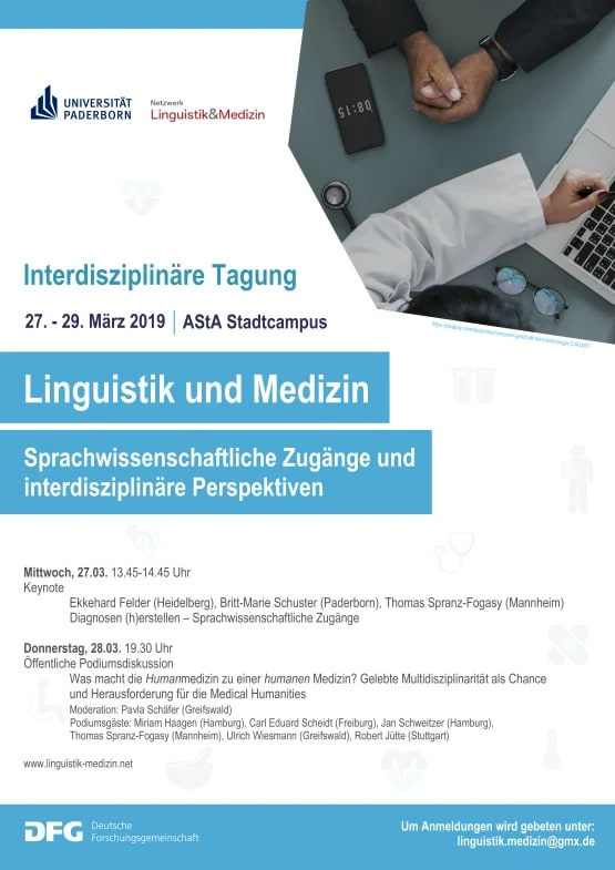 Tagung Linguistik Medizin 2019