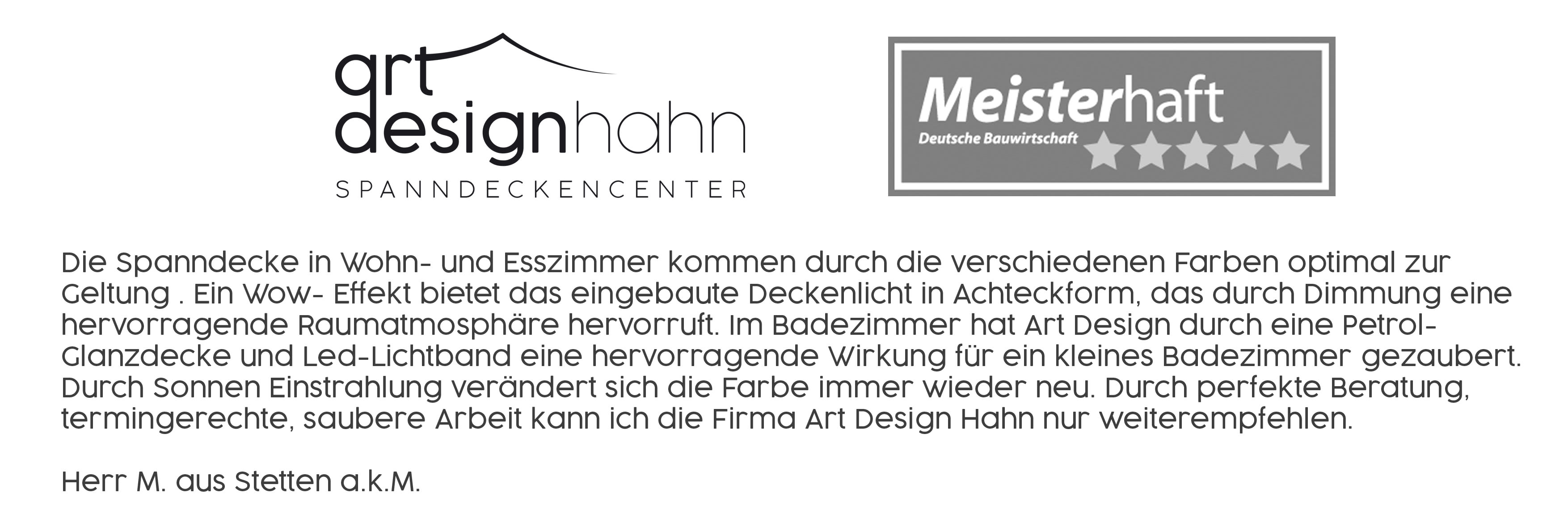 Art Design Hahn Meisterhafte Rezension 35