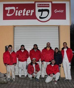Das Team von Baudekoration Dieter