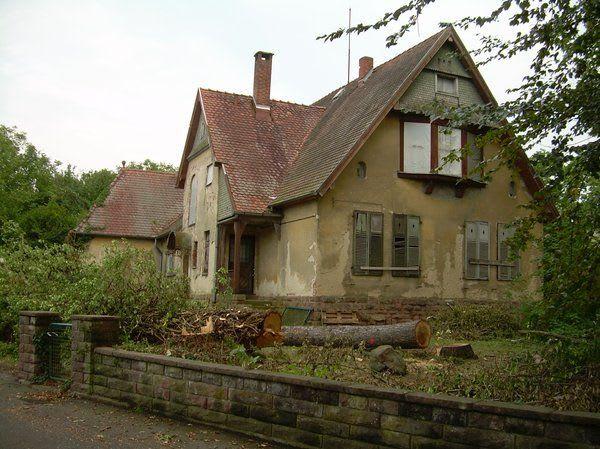 Fassadengestaltung vorher nachher Dieses Haus stand 40 Jahre leer