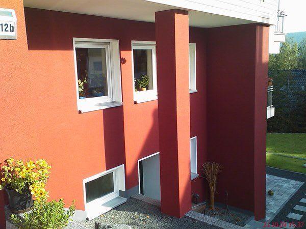 Wärmedämmung Isolierung etc rotes Haus
